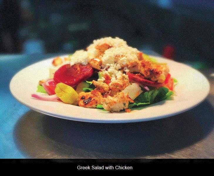 Grilled Chicken Salad at GrubHouse Restaurant in Warren, MI