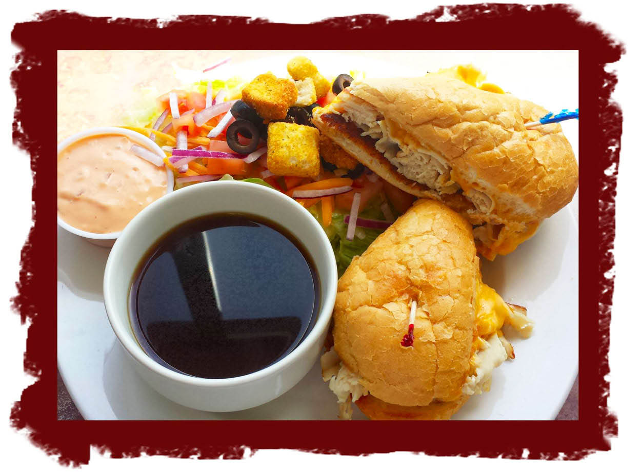 French Dip at Park Bowl Splitz Grille Casual Dining in Bellingham