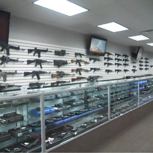 Handguns, rifles and shotguns for sale in our store