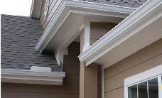 Our best aluminum seamless gutter & downspout