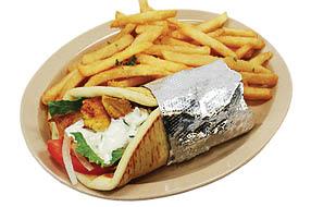 chicken kabob chicken gyro chicken hoagie chicken shawarma chicken tenders chicken gizzards wings