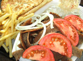 Gyros sandwich is the best at Billy Boy's!