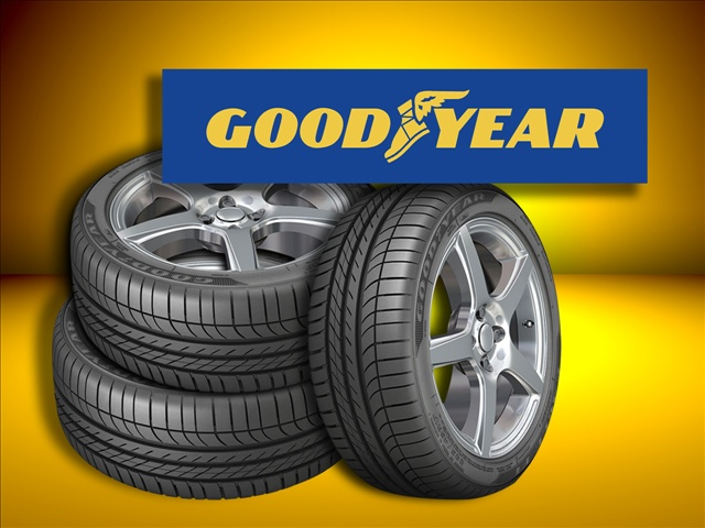 Genuine Goodyear Tires and other brand names