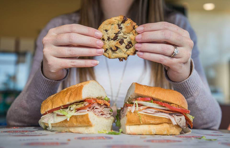 There's always room for a Jersey Mike's cookie - just eat it before your sub