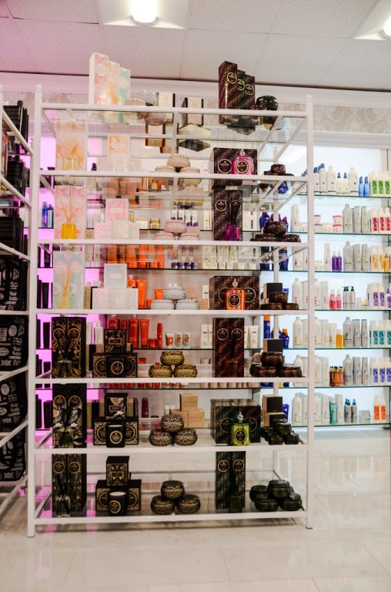 Beauty supplies, hair styling tools and fragrances in Planet Beauty in Orange County, CA