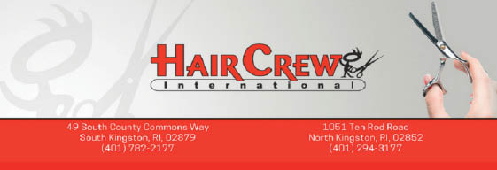 Hair Crew International - Kingstown RI banner
