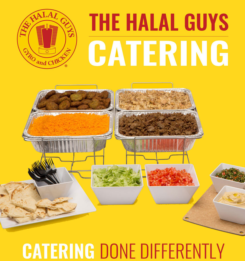 The Halal Guys  catering options near Westchase