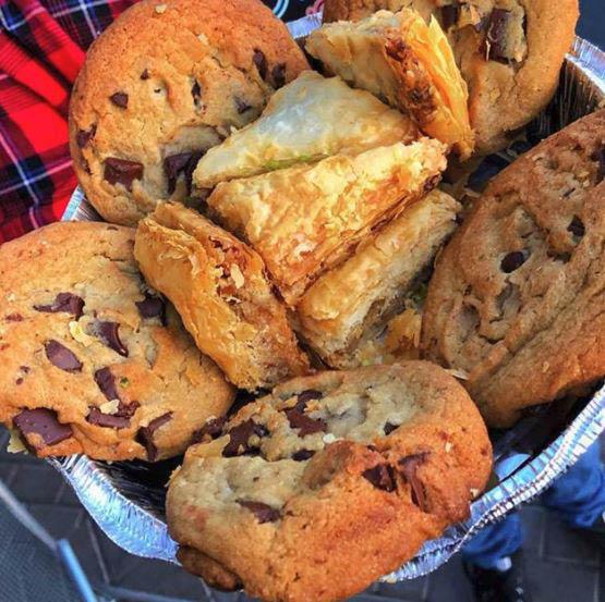 cookies, baklava, dessert, fresh, famous