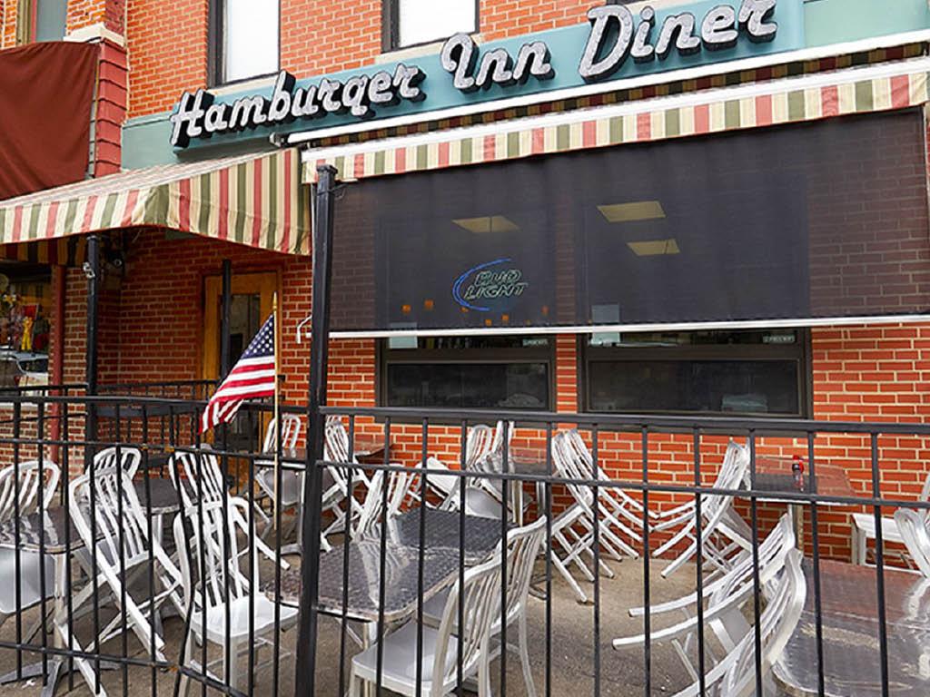 Hamburger Inn Diner patio