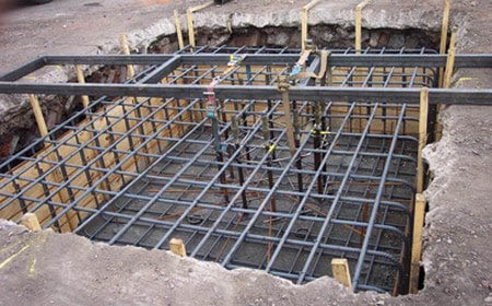 Interior trenching to direct water flow away from your home.