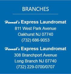 Hannah's Express Laundromat Locations