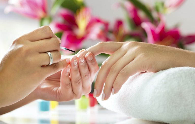 Professionally manicured nails tips from Happy Nails & Spa