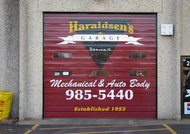 Stop by Haraldsen's Garage in Darien for your mechanical and auto body needs.