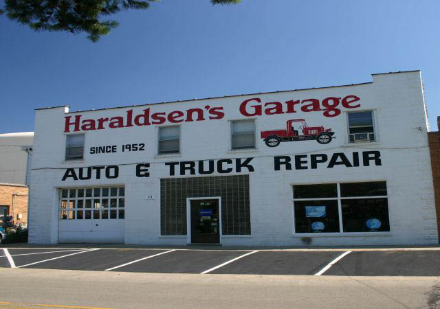 Haraldsen's Garage has been family owned and operated since 1952.