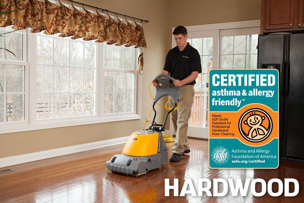 Our deep clean process extracts even the unseen dirt and grime that hides in the crevices of your hardwood floors.