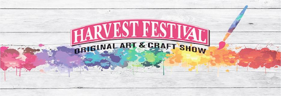 Harvest Festival Original Art & Craft Show banner Pomona, CA