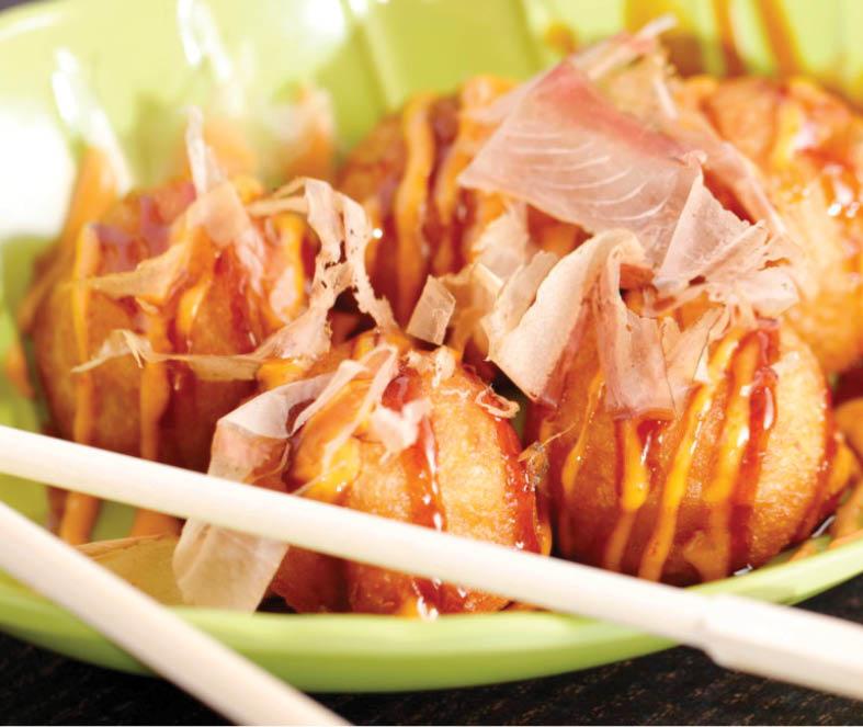 takoyaki at Hashi in fort worth texas