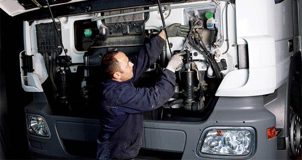 Big rig, tractor trailer auto repair