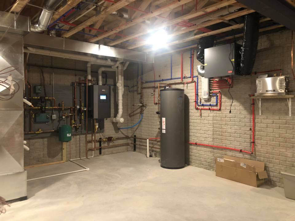 Whole new system by Habor City Plumbing