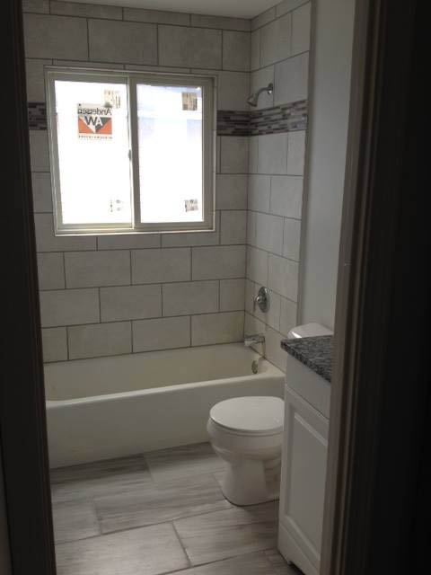 new updated bathroom from Harbor City Plumbing