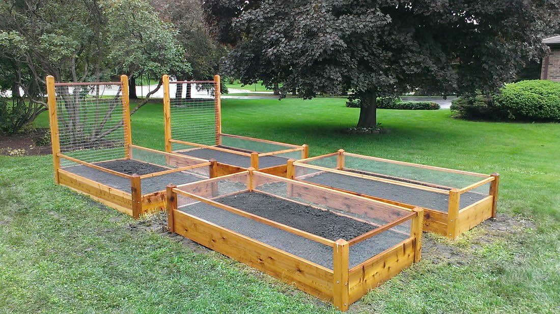 Healthy Roots Raised Bed Gardens in Glenview, IL
