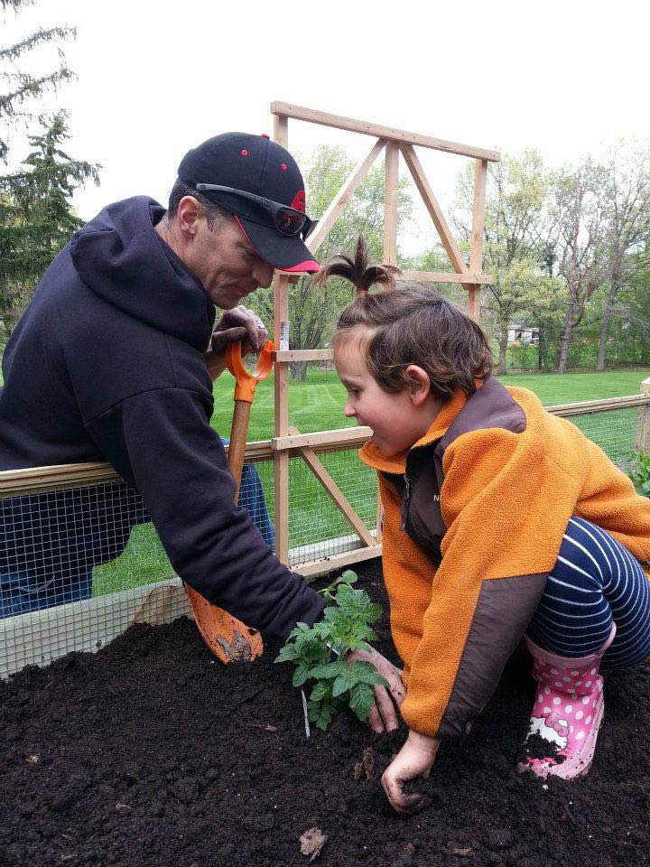 Plant vegetables in your raised bed garden and watch them grow