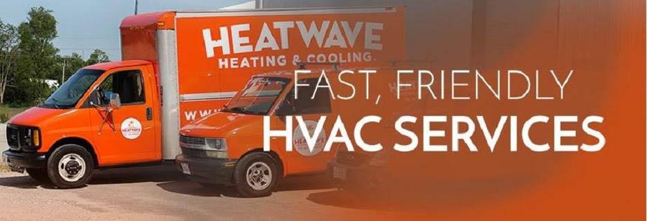 Heatwave Heating & Cooling BANNER