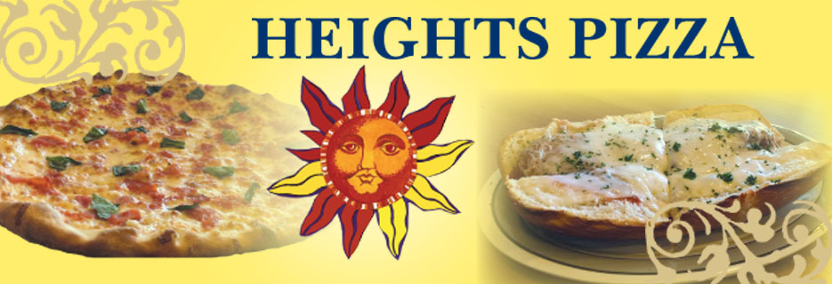Heights Pizza Darien CT banner image