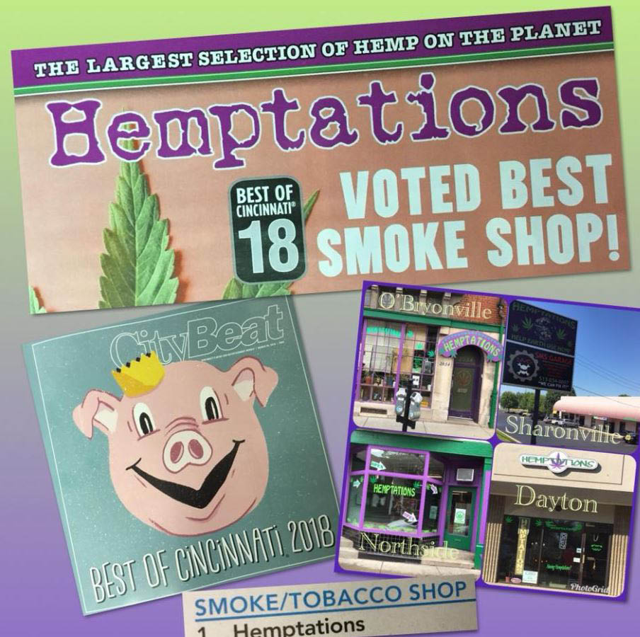 hemptations voted best smoke shop cincinnati ohio