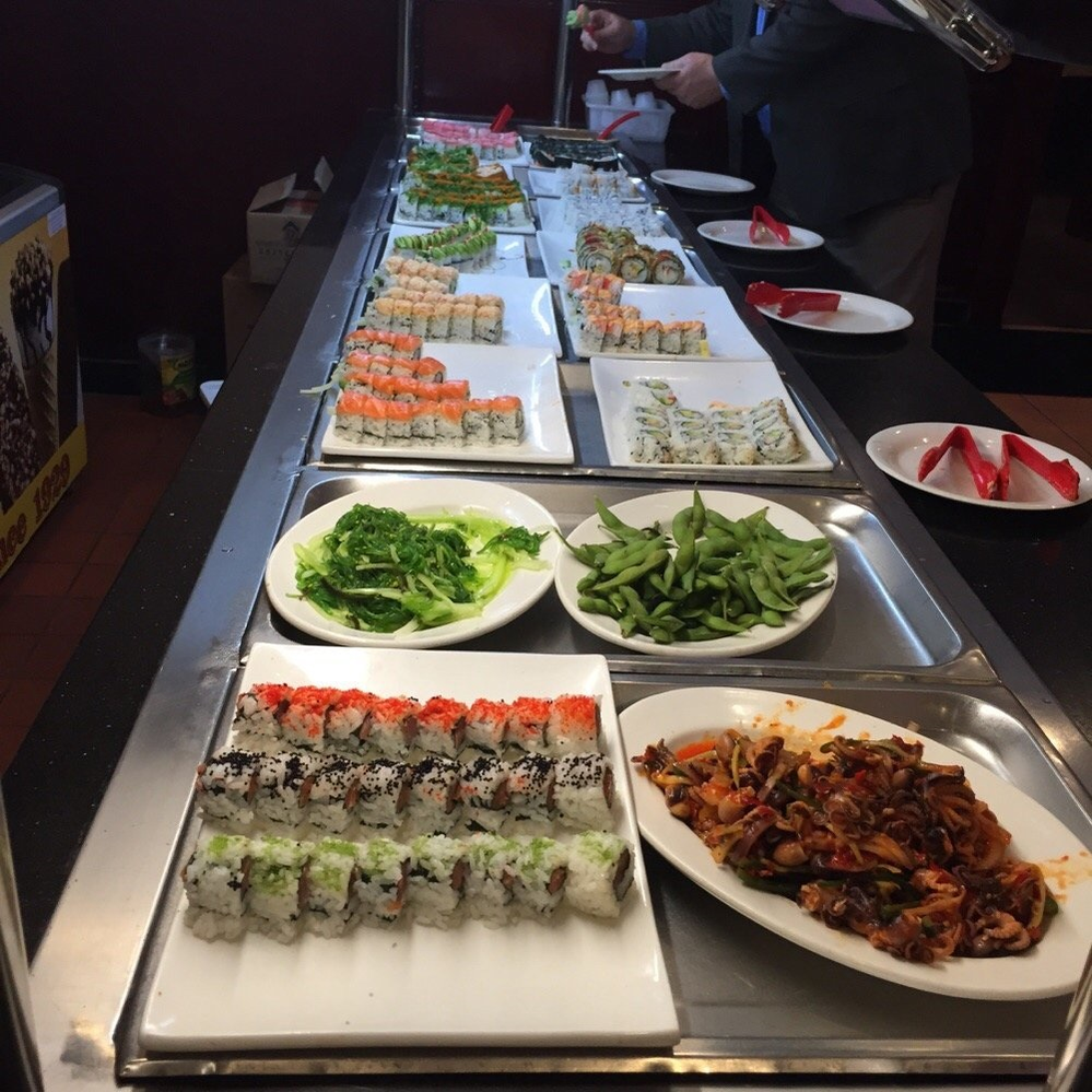 Sushi bar buffet in Harrisburg, PA