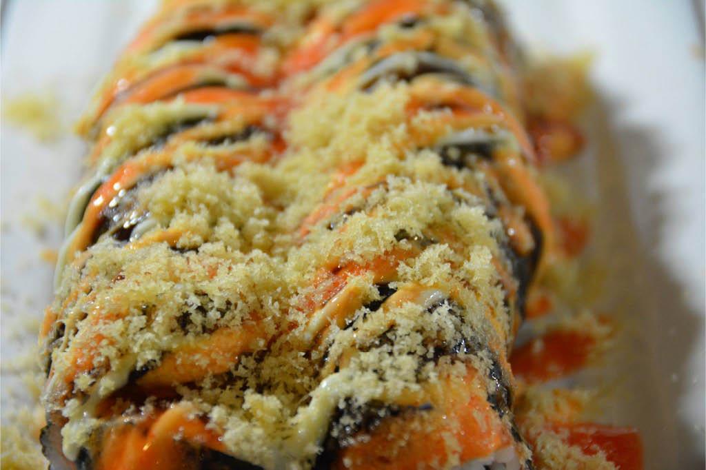 Handmade sushi rolls at Hibachi Grill & Supreme Buffet Daytona Beach, FL
