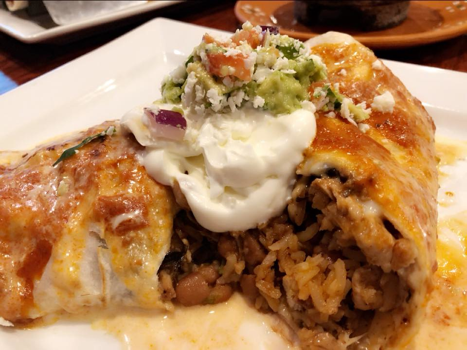 Beef, chicken or fish Mexican dishes at Hidalgo Mexican Bar & Grill