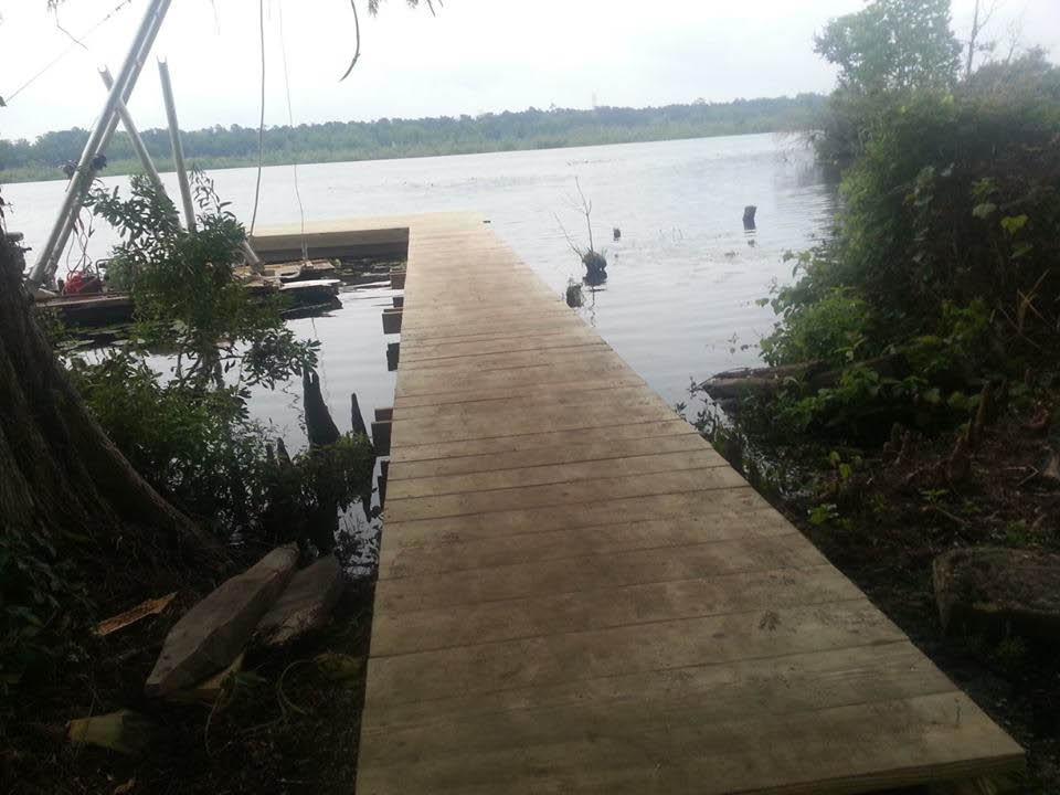 Jet ski dock near Charleston, SC