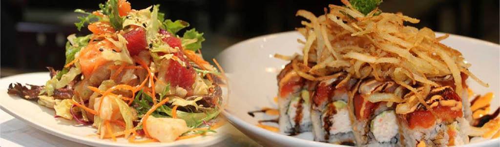 Rolls    Sushi and Sashimi    Party Trays