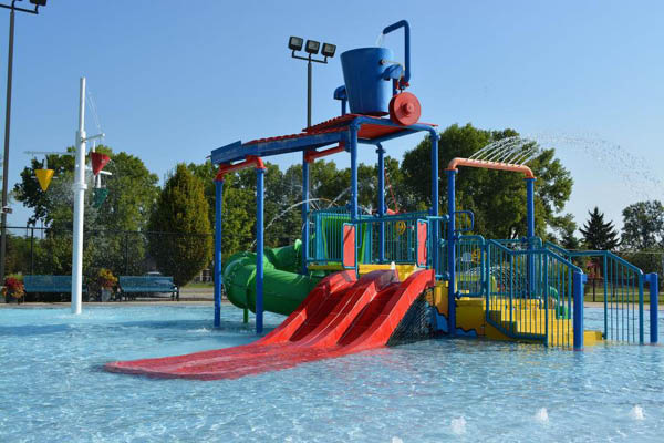 City of Hilliard Parks & Recreation kids pool