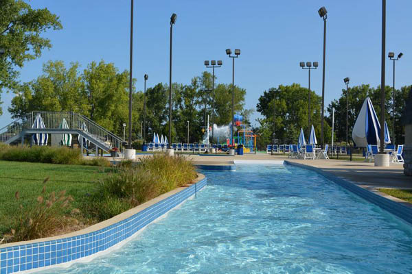 City of Hilliard Parks & Recreation lazy river pool