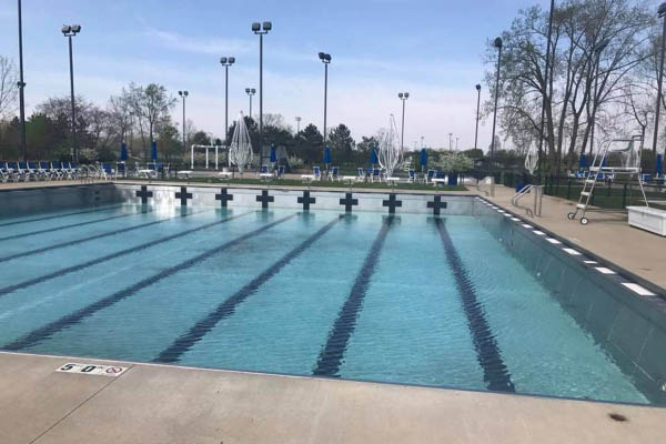 City of Hilliard Parks & Recreation public swimming pool