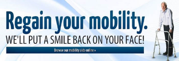 Regain your mobility! We'll put a smile back on your face.