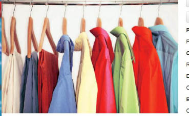 valet dry cleaning; tailoring; leather cleaning in California