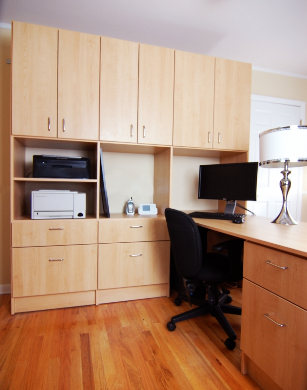 custom home office from closet america serving virginia, maryland, washington dc
