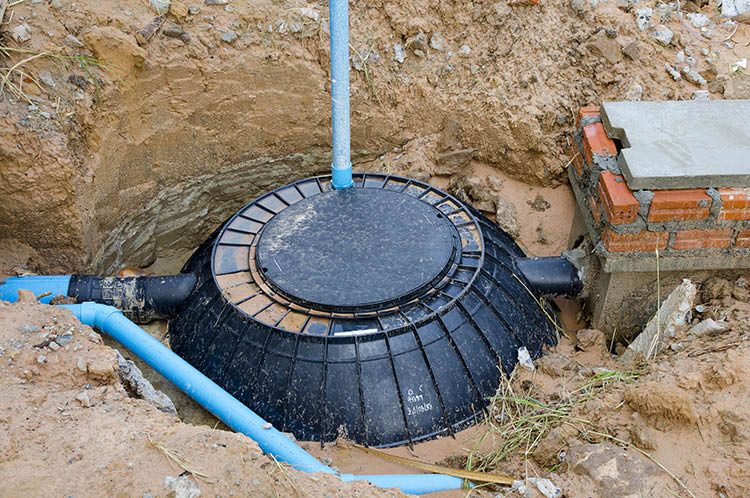 Septic Tank Installed by Cooperative Waste Solutions in Byram, NJ