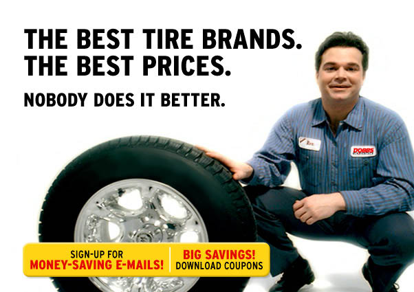 Get a discount tire alignment at Dobbs Tire & Auto Centers. We provide tire balancing, tire repair and new tires.