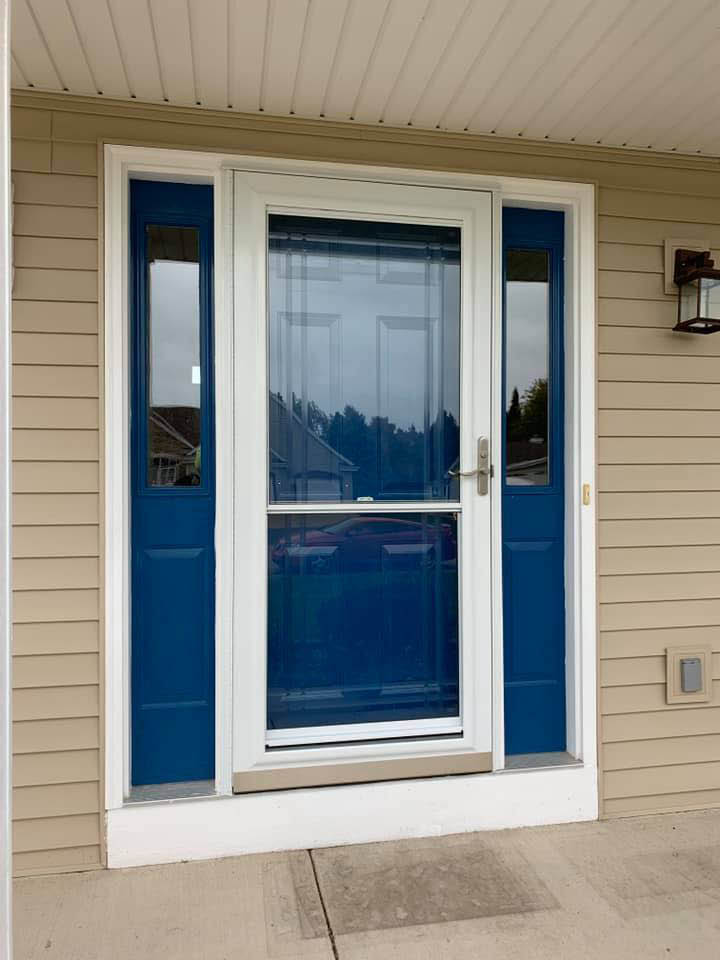 New door install from HomeSealed Exteriors in New Berlin