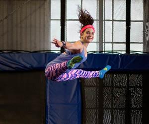indoor trampoline park, jump time, dodgeball, rock climbing, birthday parties, entertainment