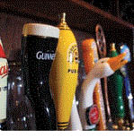 Picture of draft beer at The Hub Sports Bistro in Macomb, MI