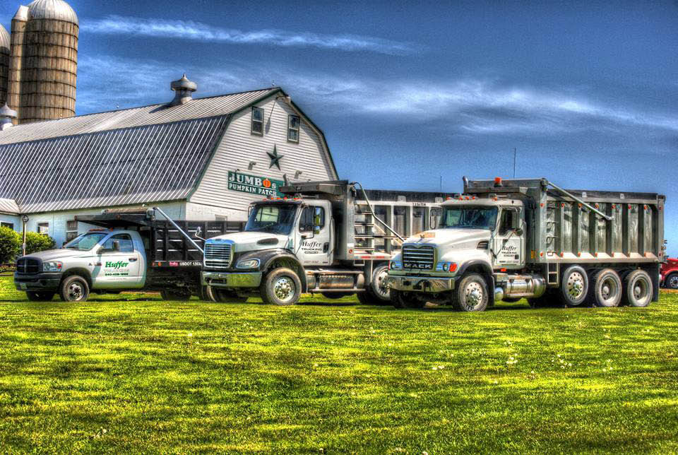 Huffer Trucking and Bulk Services in Frederick, MD topsoils