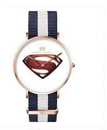 Picture of watch with Superman logo from Humanity Republic in Grand Blanc, MI