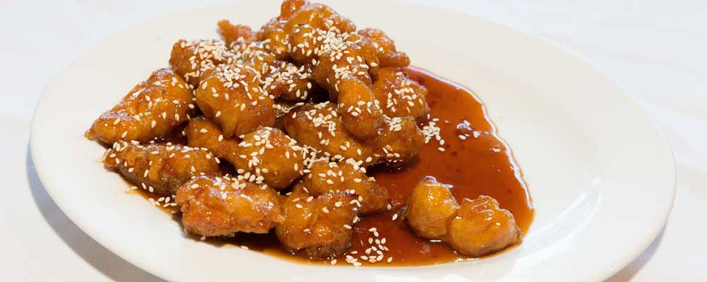 Chinese food delivery coupons, sweet and sour chicken