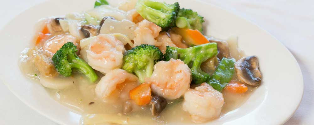 hunan cuisine coupons, discounts, Chinese food coupon, Shrimp and Vegetables