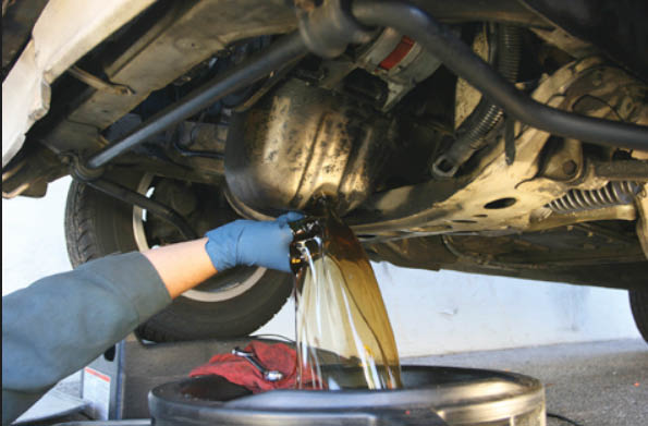 oil change hunter automotive fort worth TX